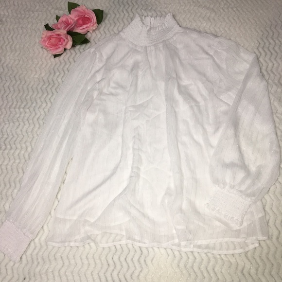 NY Collection Tops - NY collection long sleeve Blouse